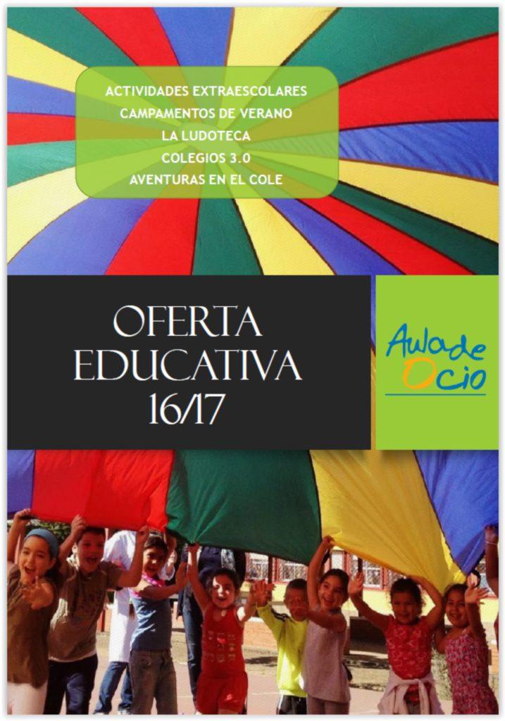 Oferta Educativa 16/17 novedades