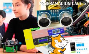 Extraescolares Robótica Programación. Continúa la apuesta tecnológica de Aula de Ocio, que para el curso 17/18 dará a sus alumnos la oportunidad de formarse de manera lúdica en la programación, la robótica y la electrónica. Los talleres estarán distribuidos por edades, con tres programaciones, la Programación Chupete (4-7 años), la Cadete (7-11 años) y la Juvenil (12-17 años).