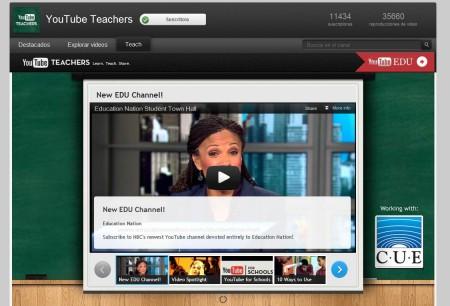 8 Herramientas Básicas Para el Profesor Creativo Ahorra tiempo encontrando tus vídeos educativos en un catalogo especializado de YouTube.