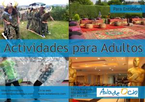 Actividades para adultos