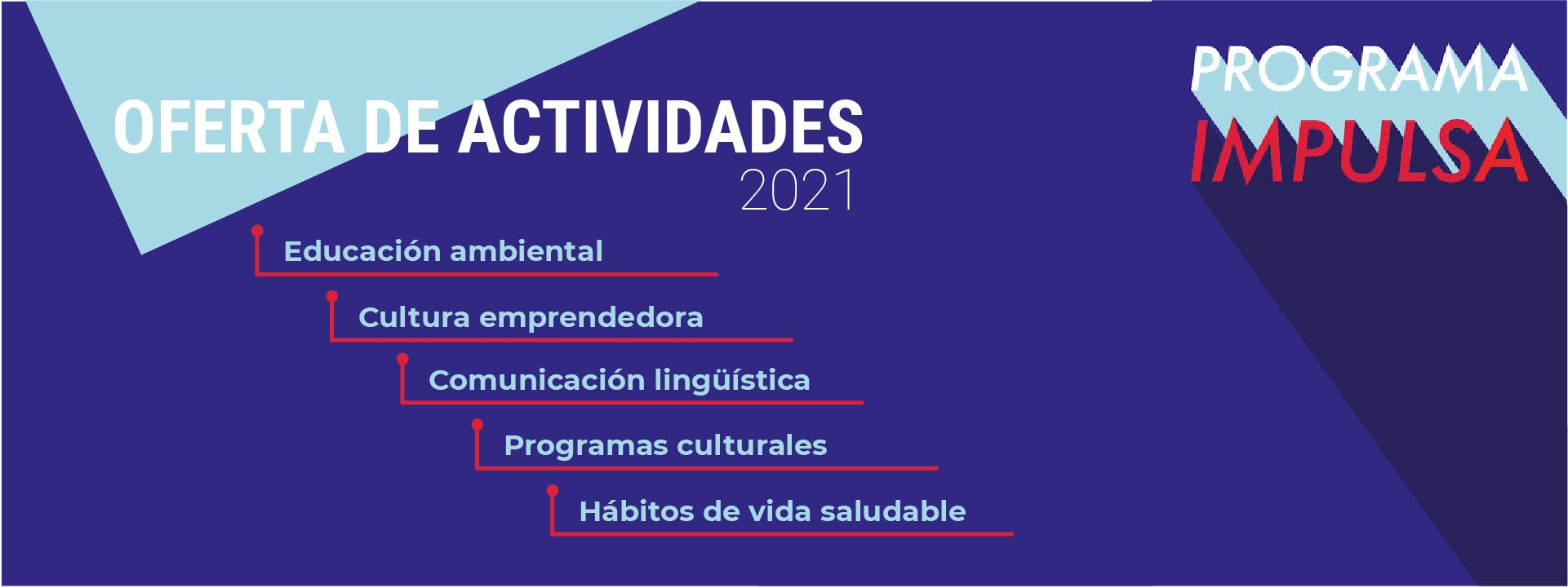 Actividades para el Programa Impulsa
